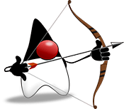 Logo of JNoSQL: image of Duke, Java's cartoon mascot, with a bow and arrow pointing to the right